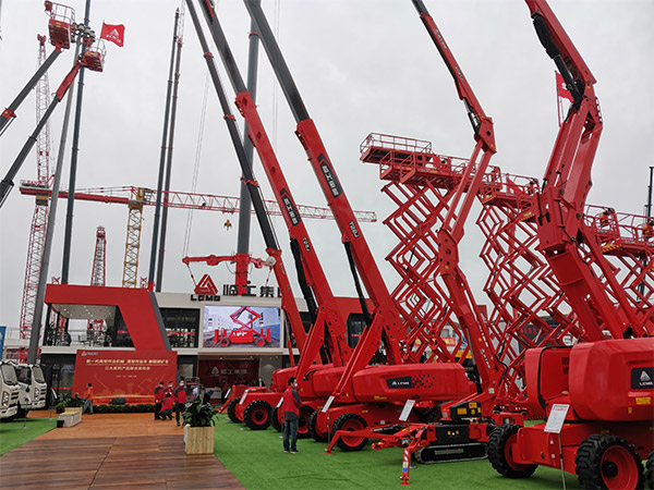 LGMG released all-newly designed boom lift products  at bauma CHINA 2020